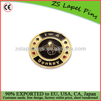 gold plated card guard poker guards