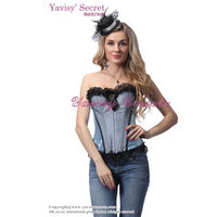 wholesale clothing factory light blue fir slim and beauty body shaper and body slimmer shaper