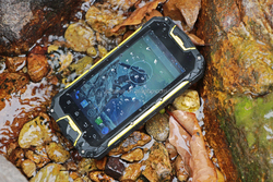 4.5inch rugged android phone military phone 1G+4G Storage Landrover m8 dual sim waterproof android