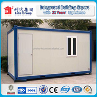 2015 New Design low cost prefab container apartment building LIDA Group