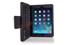 For iPad mini/mini 2 ABS Bluetooth Keybaoard PU Leather Case Cover ebour011