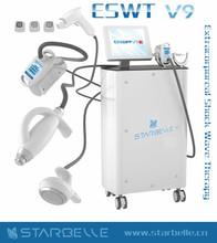 ESWT V9 cavitation rf photon for face and body vacuum ultrasonic cavitation slimming machine