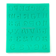 Number Digital Silicone Fondant Cake Mold Decorating Tool .Candy mold ,