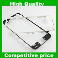 High Quality Plastic LCD Glass Touch Screen Bezel Frame +Adhesive For Apple iPhone 5 5g