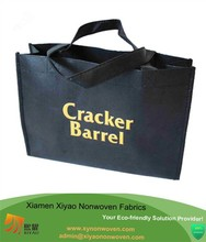 Black extra Large Reuseable Eco-Friendly Recycled Material Tote Bag