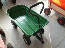 high quality Europe market folding beach trolley cart beach cart with wheels for sale