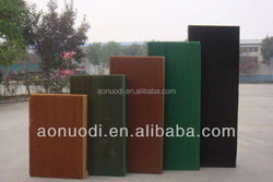 Industrial/greenhouse/poultry wall mounted cooling pad with CE certification