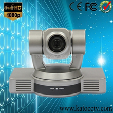 Full hd video confernce camera with high speed, high quality teleconferencing installate in the new style Meeting room