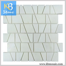 Home decoration White natural stone pieces
