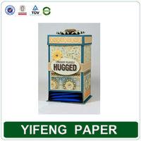Wholesale Empty Cardboard Chinese Tea Bag Storage Box