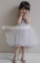 TF-04150808012 Nueva falda de burbuja 2015 contratado stipe vestido princesa correas de hombro
