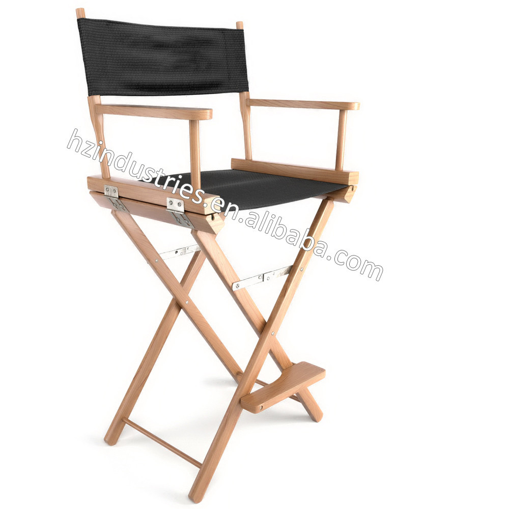 All Kind Tall Folding Director Chair Manufacturer With