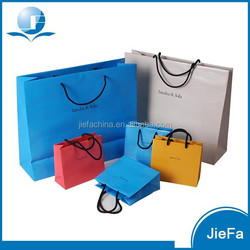 2015 New Design Eco-friendly Large Paper Shopping Bags