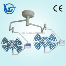 wall mounted LED surgical lights with two heads for Hospital Operating