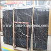 China cheap black marquina with white line for Floor and Wall