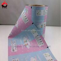 custom barrier plastic Foil wet tissue film roll