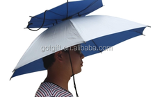 Promotional fashion style Hat Umbrella for fishing
