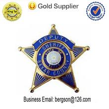 cool design custom metal emblem for police shield