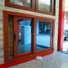Waterproof double low-e glass aluminium slide windows balcony