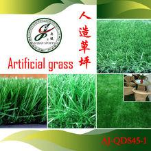 césped sintético verde