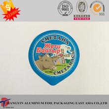 99mm PP laminated Aluminum Foil Lid For Food Packaging
