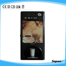 Sapoe cup dispenser coin acceptor Automatic coffee vending machine