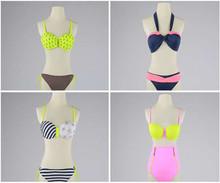 Sunnytex swimwear OEM hot 2015 custom high quality sexy girl bikini set