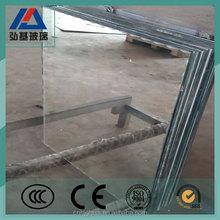 1.3mm clear beveled edge plain thin mirror glass