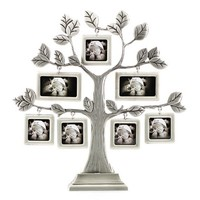 Metal Artcraft Vintage Home Decor Family / Baby Photo Frames Tree 7 pictures HQ409772P