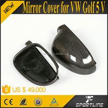 Full replacement MK5 Carbon Fiber Mirrors Cover For VW Volkswagen GOLF 5 V Jetta