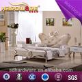 De estilo europeo camas de plataforma y de la moda de acero inoxidable de la cama hd- 805#