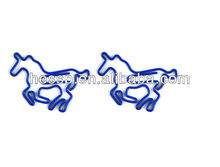 2012 new design paper clip ,colorful shaped paper clips