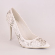 High Quality White Made In China Women Shoes For Wedding