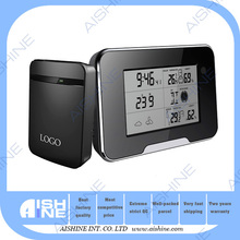 Hidden Camera Clock Radio with Record/ Multi-function Weather Clock Digital Wall Camera with Motion Detection Black 1920 x 1080