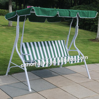 3 Person outdoor portable swing chair, comfortable swing chair with canopy
