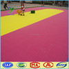 Color waterproof outdoor sports flooring , kindergarten floor