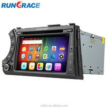 Android radio de coche auto dashboard ssangyong nueva korando