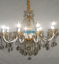 Gold Murano Glass Chandelier Modern with CE UL and 3 Year Warranty CCSPXB6801-8