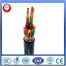 Alibaba supplier braided sheath anti flaming pure copper computer cables