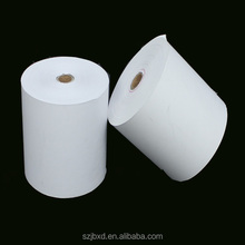 Thermal Cashier Paper Roll, White Thermal Paper Roll