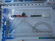 High Quality 20cm clear transparent level ruler