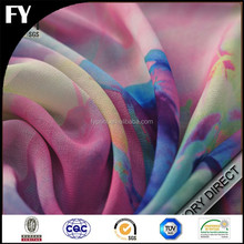 Digital Printed Pattern Factory Direct High Quality Customized Silk Georgette Fabric