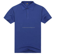 100% Polyester Polo Shirts,High Quality T-Shirt With Blue