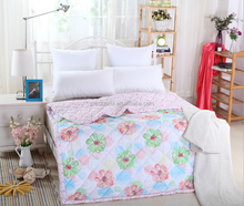 Competitive price elegant Polyester/Cotton Printed Quilt Baby Summer Quilts