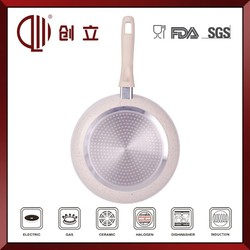 2015 new products marble coating fry pan
