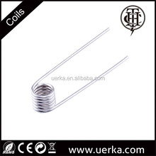 Alibaba supplier pure nickel ni200 prebuilt replaceable ecig coil, low resistance coil