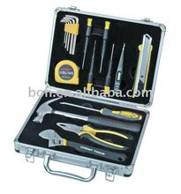 17pcs aluminum tool kit professional hand tool set