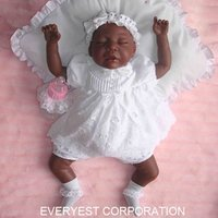 baby product 2015 african american black reborn soft silicone baby dolls