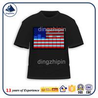 silver paste printing t shirt Promotional Logo Printed Tshirt