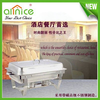 Competitive price stainless steel chafing dishes/buffet chafing dish food warmer /chafing dish electric heater